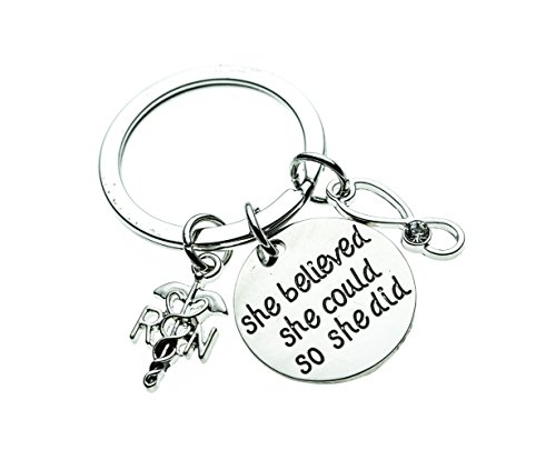 Nurse Schlüsselbund, Geschenk, Still Schlüsselanhänger, leicht Krankenschwestern Geschenk