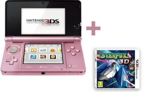 3DS ROSE CORAIL + STARFOX 64