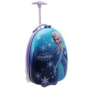 Disney Frozen Elsa Trolley Koffer Kinder Blau Kids Travel Gepäck Tasche