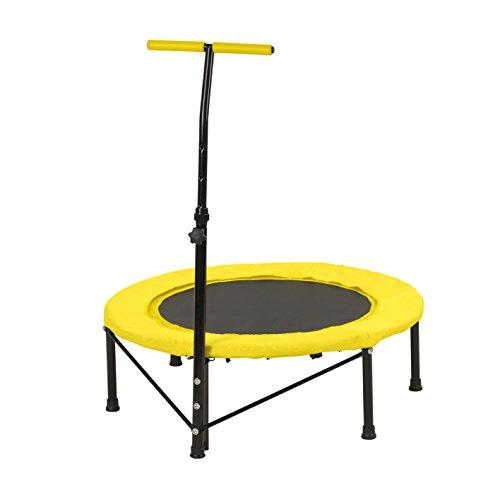 vitalmaxx Fitness Ausdauersport | Springsport | Trampolin springen, Gelb,