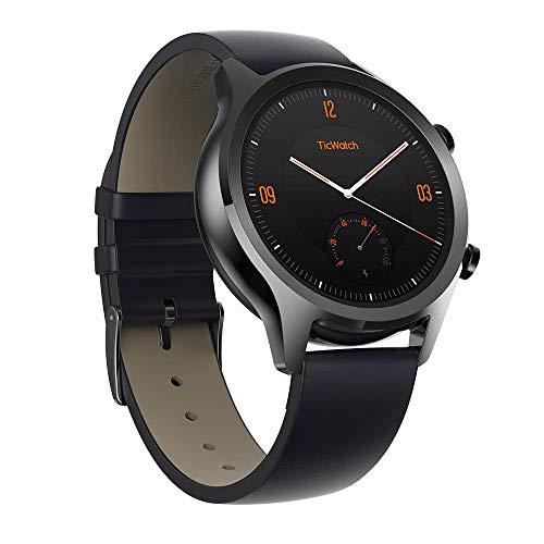 Ticwatch PRO Smartwatch con sensore di frequenza cardiaca (Android Wear, GPS, Wear OS di Google, NFC) Orologio Sportivo...