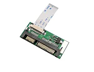 "1.8"" ZIF LIF HDD or SSD to SATA ADAPTER /// LIF 24 pins (for Apple Macbook Air SSD) /// With LIF ribbon cable"