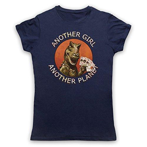 Inspiriert durch Only Ones Another Girl Another Planet Unofficial Damen T-Shirt Ultramarinblau