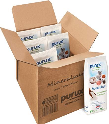 Purux Totes Meer Salz 6 kg Speisesalz -