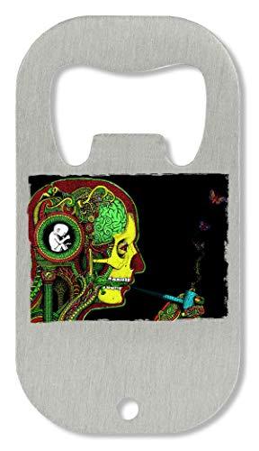 1GD Pipe Smoker'S Head Artwork Apri Bottiglia
