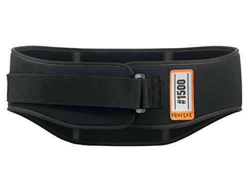 Ergodyne ProFlex 1500 - Soporte lumbar para levantar peso (pequeño para cinturas de 63 cm, XXL para cinturas de 121 cm)