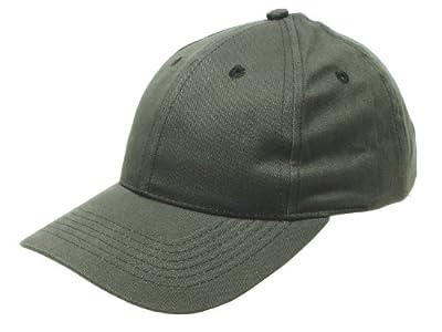 Baseballmütze / BB Cap, aus Baumwollgewebe, mit Messingschnalle, gebrascht - olive von Pro Company bei Outdoor Shop