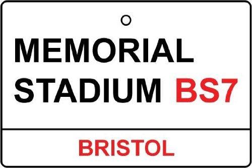 bristol-rovers-memorial-stadium-street-sign-car-air-freshener