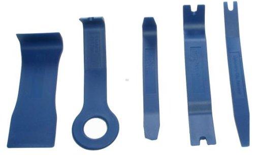Preisvergleich Produktbild BGS Zierleistenkeile-Set, verschiedene Formen, 5-teilig, 3027