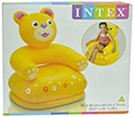 Others Intex Inflatable Animal Chair for Kids, 3-8 Years(Multicolour)