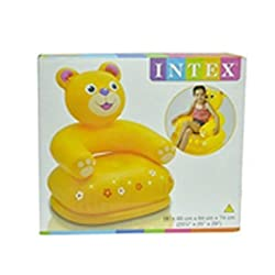 Intex Inflatable Animal Chair For Kids (Age: 3-8 Years)