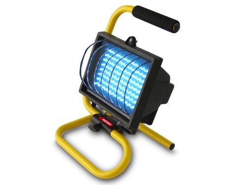Beper, Faro da lavoro, pannello 96 LED a basso consumo, con supporto da terra