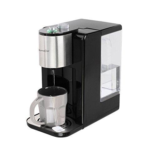 Edelstahl Heißwasserspender mit 2,2 Liter Wassertank Wasserspender Heißwasser Automat Teekocher (Starke 2600 Watt, Überhitzungsschutz, Heißwasserbereiter, Wasserkocher)