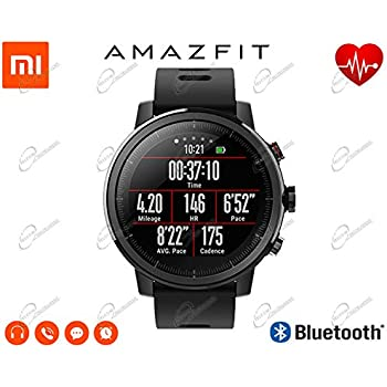 Amazfit Reloj Inteligente Xiaomi Amazfit Stratos 2 con GPS Versión ...