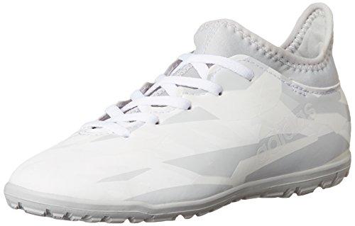 adidas Jungen X 16.3 Tf J Fußballschuhe FTWWHT/FTWWHT/CLEGRE