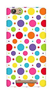SWAG my CASE PRINTED BACK COVER FOR GIONEE MARATHON M5 LITE Multicolor