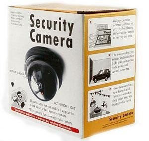 Gadgetbucket Mini Dummy Security With Motion Detector Sensor Camera Flashing Light.  available at amazon for Rs.147