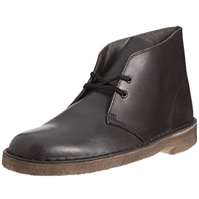 Clarks Originals Desert Boot, Boots homme - Noir (Black), 40 EU (6.5 UK)