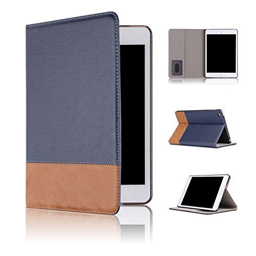 Qinda Luxury Leather Smart Flip Case cover for Apple iPad 2/3/4 9.7