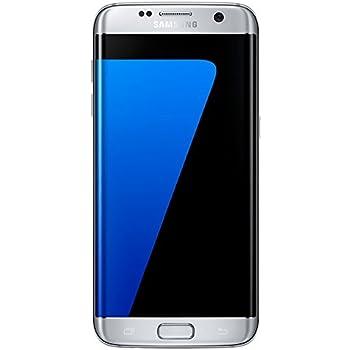 Samsung Galaxy S7 Edge Smartphone, Argento, 32 GB Espandibili [Versione Italiana]