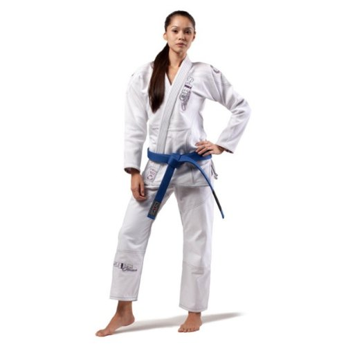 Grips Athletics Damen Amazona GI, Damen herren, weiß, F4 (Frauen Bjj Gi)
