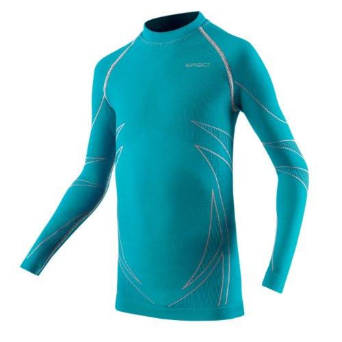 SPAIO ® langes Thermoshirt Kinder Skiunterwäsche Thermowäsche UNISEX 116-122   04250625481241