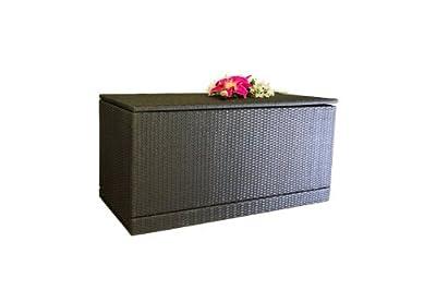 Wäschebox / Kissenbox aus Poly Rattan