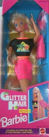Glitter Hair Barbie 1993 Blonde