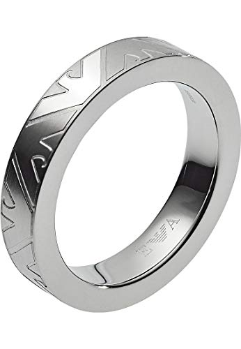 Emporio Armani EGS2601040512 Herren Ring ESSENTIAL Silber 20,1 mm Größe 63