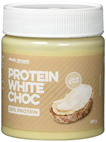 Body Attack Protein White Cream - Milky Vanilla 250 g