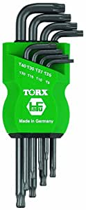 TORX - Torque Key Set Ballpoint 8pcs T9-T40 | Made in Germany