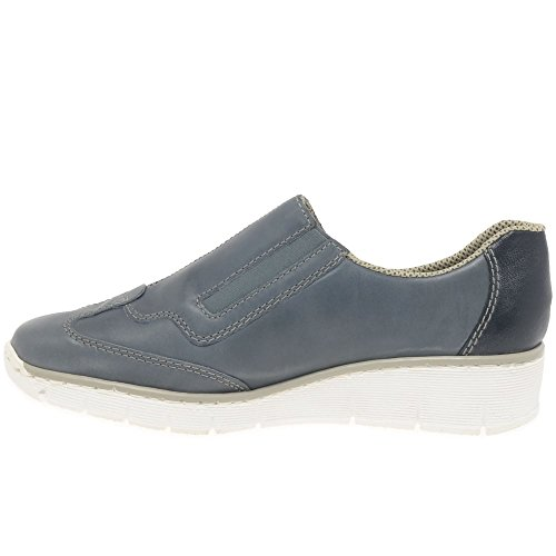 Rieker Woman Eagle Sneaker Azur blue