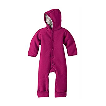 Disana 36108XX - Walk-Overall Wolle beere, Size / Größe:50/56 (0-3 Monate)