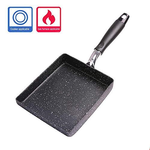 TGSEA TAMAGOYAKI Omelettpfanne antihaftbeschichtet 15 x 18 cm japanische Aluminiumlegierung TGSEA...