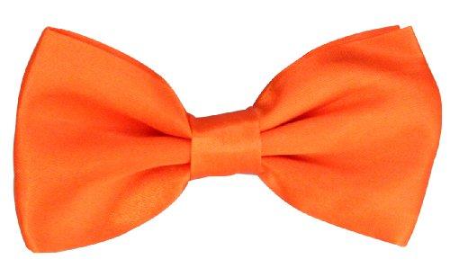 Fliege / Schleife in orange (Fliege Orange)