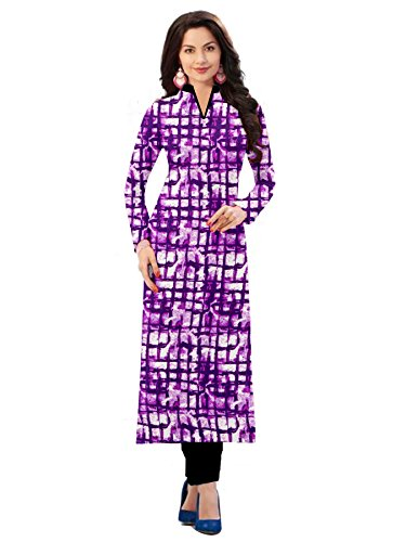 BEST party wear Women's Designer kurti - COMFORTABLE Princess cut stitched Long rayon kurta - Designer stylish and readymade partywear dress for women,Crazy Trendz Multi Coloured party wear kurtis for women readymade sleeve stylish partywear dress A-Line Rayon Embroidery Kurti. Brow Calf Length Sleeveless Stitched Designer Stylish Long Kurti. Size L & XXL Readymade Straight Calf Length Embroidered Cotton Silk Long Kurti.Regular Fit 3/4 Sleeve Round Neck Partywear Kurti For Women.  available at amazon for Rs.298