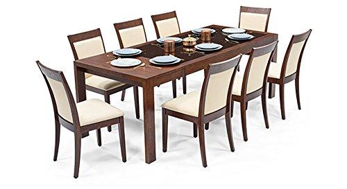 Urban Ladder Vanalen Four Seater Dining Table Set (Grey)