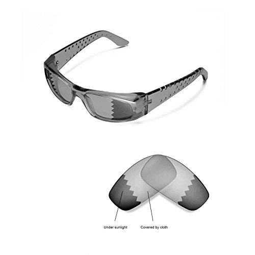 Walleva Ersatzgläser für Spy Optic MC Sonnenbrille - Mehrfache Optionen (übergang / photochrom - Polarisiert)
