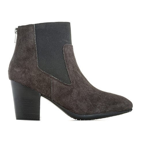 Preisvergleich Produktbild Skechers Damen Stiefel & Stiefeletten Schwarz Anthrazit, Grau - Anthrazit - Größe: 39.5 EU