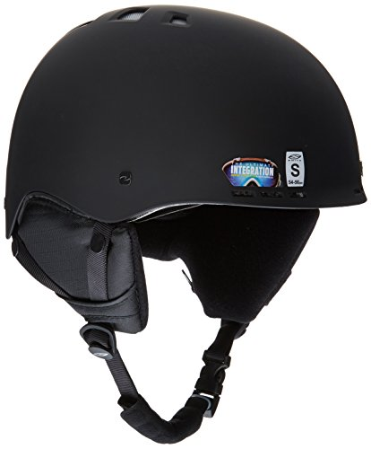 Smith Optics Erwachsene Ski- Und Snowboardhelm Holt-ad Matte Black -