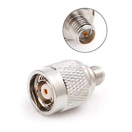 CADANIA RP-TNC-Stecker auf RP-SMA-Buchse HF-Steckverbinder Koaxial-Konverter-Adapter -