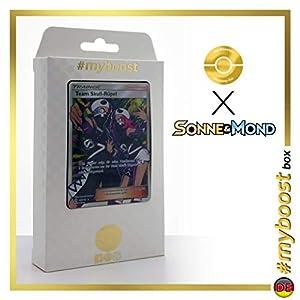 Team Skull-Rüpel (Reculta del Team Skull) 149/149 Entrenadore Full Art - #myboost X Sonne & Mond 1 - Box de 10 Cartas Pokémon Aleman