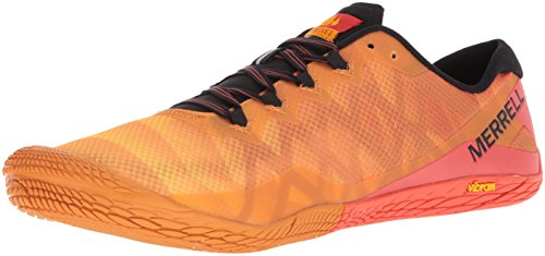 Merrell Vapor Glove 3, Herren Laufschuhe, Orange (Saffron), 49 EU (13 UK)