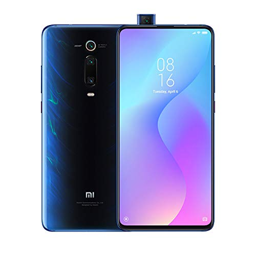 Xiaomi Mi 9T - Smartphone con Pantalla AMOLED Full-Screen de 6,39' (Selfie Pop-up, Triple cámara de 13 + 48 + 8 MP, con NFC, 4000 mAh, Qualcomm SD 730, 6+64 GB,) Color Azul Glaciar [Versión española]