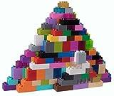 Strictly Briks - set da 204 mattoncini per costruzioni grandi #3 - compatibili con tutte le principali marche - solo mattoncini a pioli grandi - multicolore