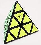 Pyraminx Qiyi QiMing A Puzzle by yukub - Negro