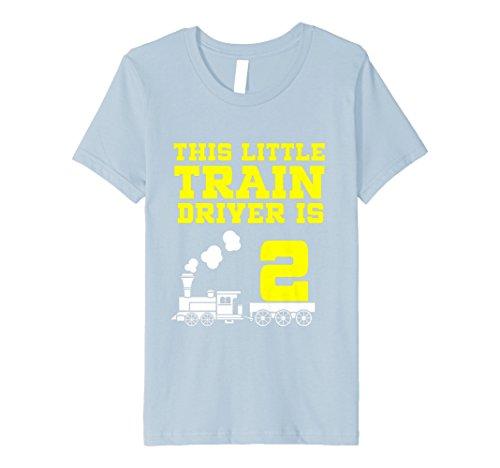 Kinder 2nd Birthday Girls Train T Shirt Tank Engine 2 Year Old