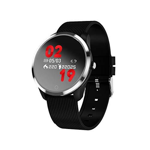 2018 Fitness Tracker Aktivitäts-Tracker mit Herzfrequenz-Tracker Bluetooth Smartwatch Blutdruck-Sauerstoffrate-Schleife Wasserdichte Gesundheitsaktivität Smart Armband (M01-1)