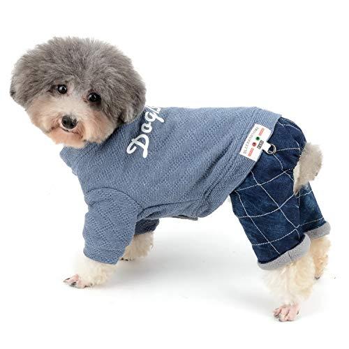 Zunea - Traje de chándal para Perro pequeño, para Invierno, cálido, Ropa...