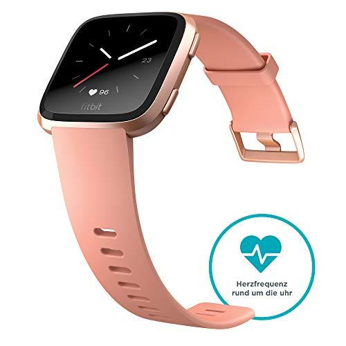 Fitbit Versa Health & Fitness Smartwatch, pfirsich, One Size, FB505RGPK-EU - 3